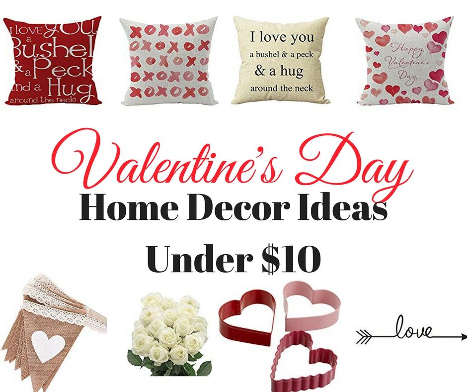 Valentine's Day Home Decor Ideas Under $10